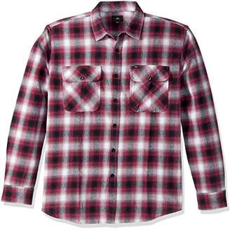 Obey Men's Mission Long Sleeve Woven Shirt