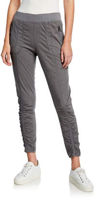 XCVI Grassroots Rouched Crop Pull-On Pants
