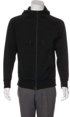 Y-3 Hooded Zip-Up Sweatshirt