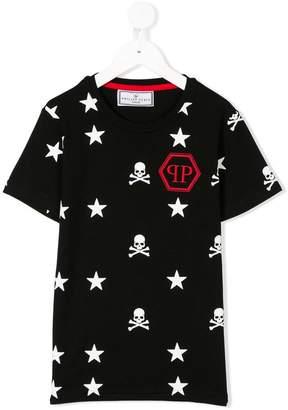 Philipp Plein Junior printed T-shirt