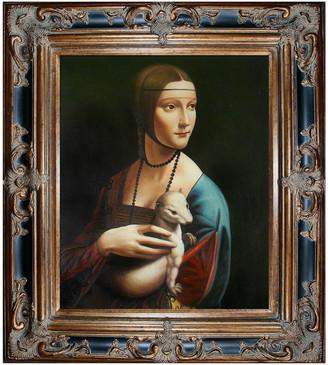Leonardo Overstock Art Lady With An Ermine By Da Vinci