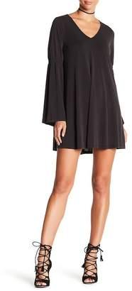 Dee Elly Bell Sleeve Shift Dress
