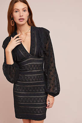 Nightcap Clothing Esparella Lace Mini Dress