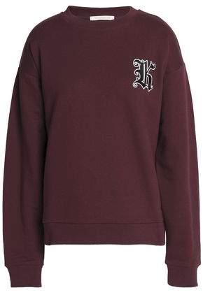 Appliquéd Cotton-Blend Terry Sweatshirt