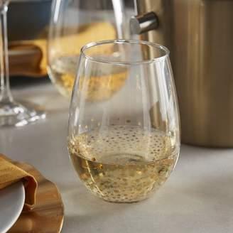 Fitz & Floyd Gold Luster 20 oz. Stemless Wine Glass