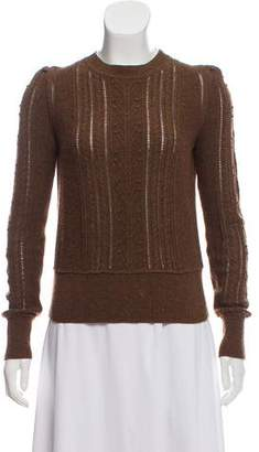 Etoile Isabel Marant Lightweight Cable Knit Sweater