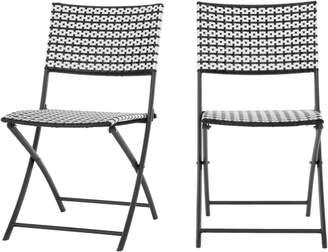 Set of 2 Pya Dining Chair, Monochrome