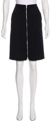Tod's Wool-Blend Skirt