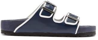 Birkenstock X Il Dolce Far Niente - Arizona Fullex Leather Sandals - Womens - Navy White