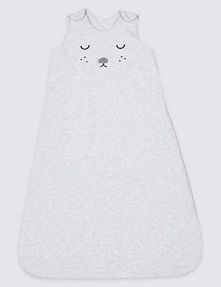 Marks and Spencer Pure Cotton 2.4 Tog Face Sleeping Bag