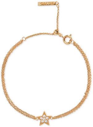 Olivia Burton Crystal Star Chain Bracelet