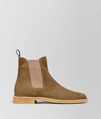 Bottega Veneta VOORTREKKING BOOT IN SUEDE