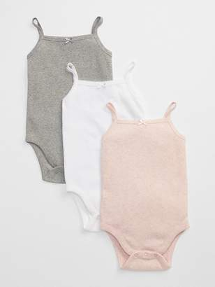Gap First Favorite Picot Trim Bodysuit (3-Pack)