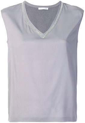 Fabiana Filippi V-neck sleeveless top