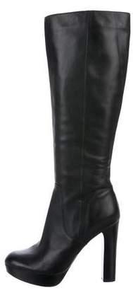 MICHAEL Michael Kors Leather Knee-High Boots