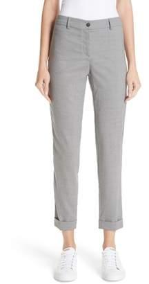 Fabiana Filippi Beaded Tropical Stretch Wool Slim Pants
