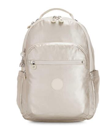 """Kipling Seoul Large Metallic 15""""Laptop Backpack"""