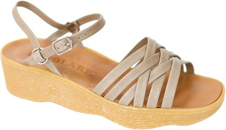 d1dc13502cfa Camper Famolare Get There Leather Wedge Sandal - Strappy