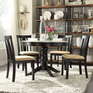 Andover Mills Oneill Modern 5 Piece Wood Dining Set
