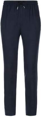 Sandro Linen Drawstring Trousers