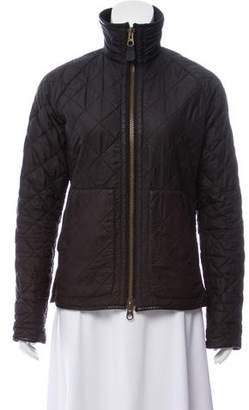 Ralph Lauren Black Label Quilted Zip-Up Jacket