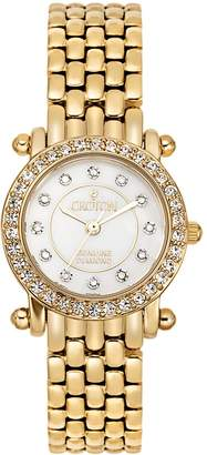 Croton Women's Diamond & Crystal Watch