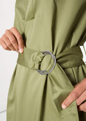 And other stories Belted Utilitarian Dress