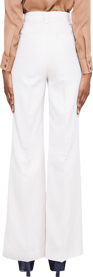 Viktor & Rolf White Silk Trouser
