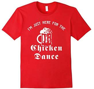 I'm Just Here For The Chicken Dance Oktoberfest Beer T-Shirt