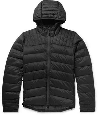 Canada Goose Brookvale Slim-Fit Quilted Shell Hooded Down Jacket - Black