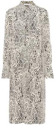 Chloé Printed silk dress