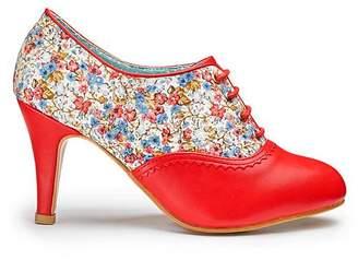 Joe Browns Floral Shoe Boots Wide E Fit