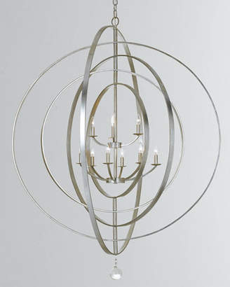 Crystorama Luna 9-Light English Chandelier