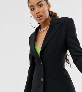 Asos Tall DESIGN Tall pop waisted suit blazer