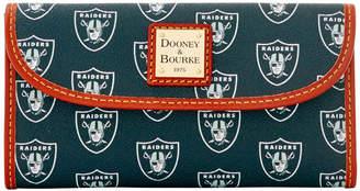 Dooney & Bourke NFL Raiders Continental Clutch