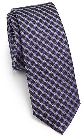 Paul SmithPaul Smith Small Check Silk Tie