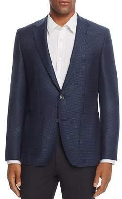 BOSS Janson Regular Fit Micro Pattern Sport Coat