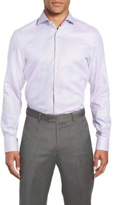 BOSS x Nordstrom Jerrin Slim Fit Solid Dress Shirt