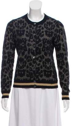 Marc Jacobs Patterned Long Sleeve Cardigan