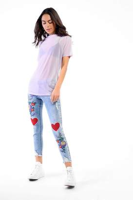 Glamorous **Embroidered Jeans