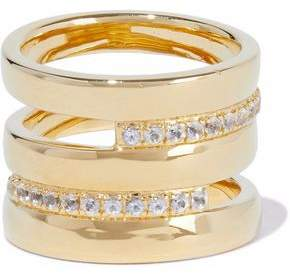 Elizabeth & James Elizabeth And James Woman Gold-tone Ring Gold Size 5 BtNqiD3HB