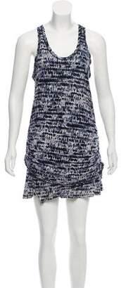 Proenza Schouler Printed Sleeveless Mini Dress