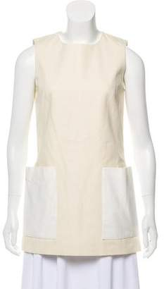 Alexander McQueen Sleeveless Crew Neck Tunic