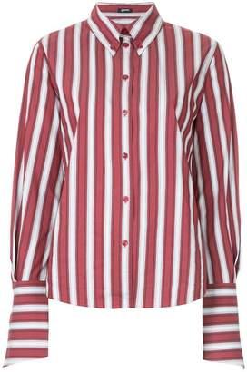 Jil Sander Navy striped fitted shirt