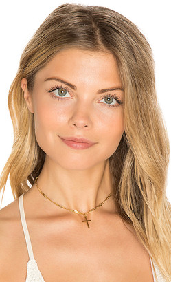 Frasier Sterling Confessions Choker in Metallic Gold. $44 thestylecure.com