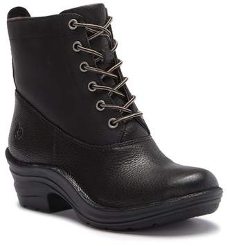 bionica Roker Leather Lace-Up Platform Boot