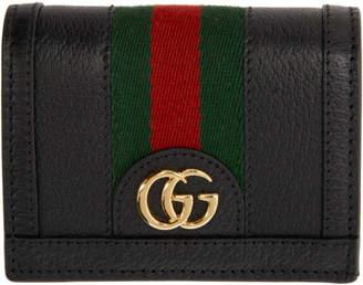 Gucci (グッチ) - Gucci ブラック オフィディア カード ケース ウォレット
