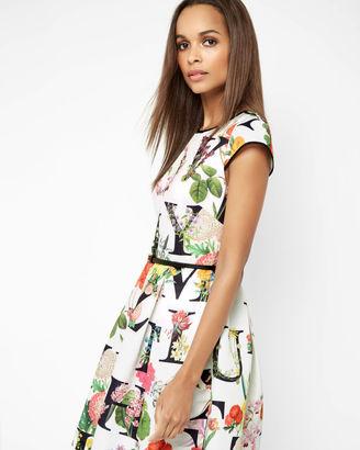 AZ Floral tulip dress $335 thestylecure.com