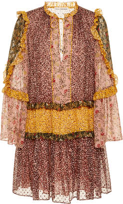 Ulla Johnson Essie Ruffle Mini Dress