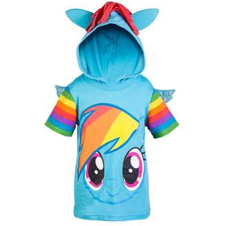My Little Pony Hooded Shirt - Rainbow Dash, Twilight Sparkle, - Girls